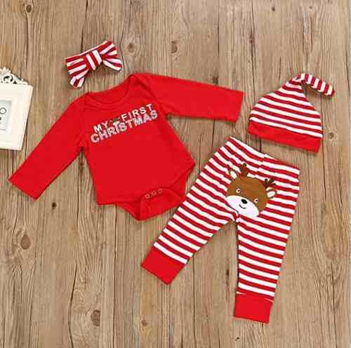 Pijama de bebe mi priera navidad
