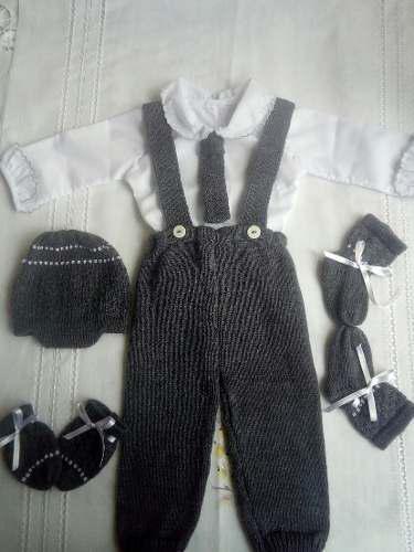 Primera pinta conjuntos tejidos ajuar recién nacidos bebes