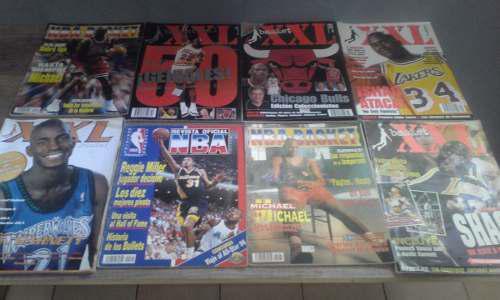 Revistas de basket xxl, nba basket y revista oficial nba