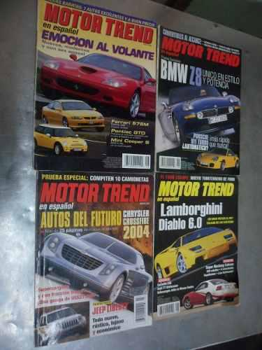 Revistas motor trend en español negociable