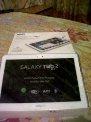 Vendo mi tabla samsung galaxy tad 2 de 10. 1