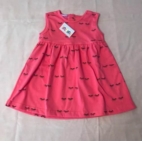Vestido de bb (niña) sin magas original bambino
