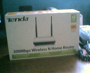 Router de wifi marca tenda