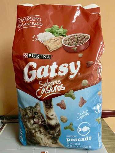Gatsy comida para gatos 3 kilos sabor pescado