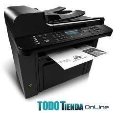 Impresora hp multifuncional laser monocromatica m1536dnf