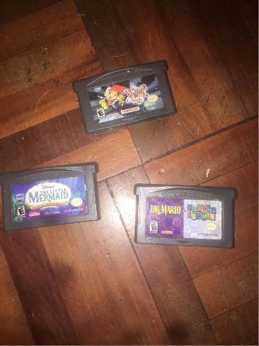 Juegos Para Nintendo Game Boy Advance Sp