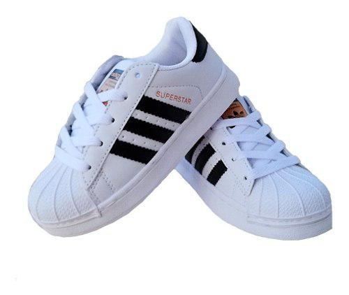 Oferta zapatos superstar niño y niña (tienda fisica)