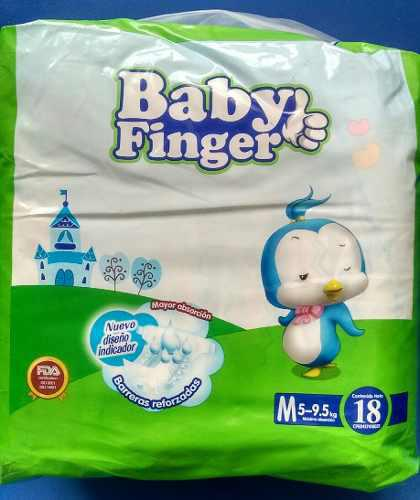 Pañales ecologicos (oferta) desechables baby finger p /m