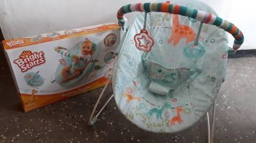 Silla bebe mecedora vibradora bebe bright starts