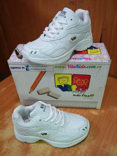Zapatos deportivos colegiales vita kids escolares 29-40