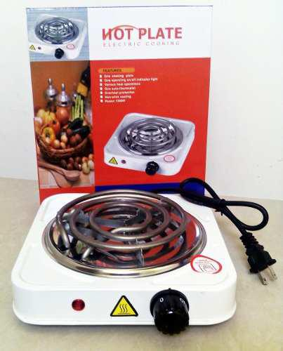 Cocina electrica 1 hornillas 110 v con garantia