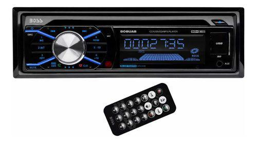 Equipo de sonido carro boss bluetooth, cd, mp3, fm (70)
