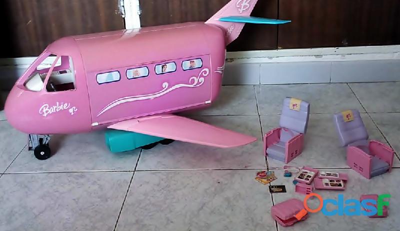 Avion de barbie marca mattel