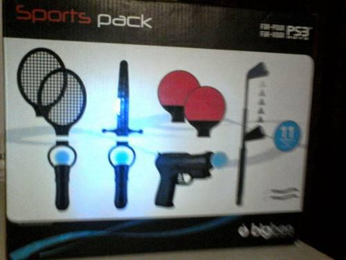 Accesorios playstation 3 play move 11-in-1 $10
