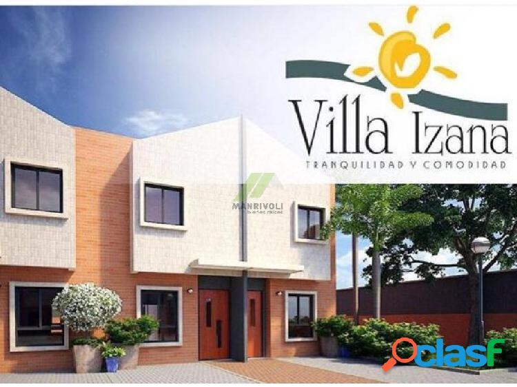 Townhouse villa izana,urb. manantial, naguanagua