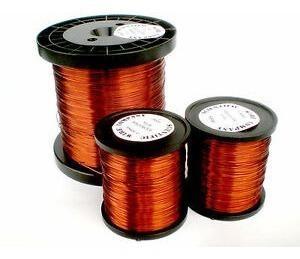 Alambre de cobre esmaltado 200° para embobinar motores