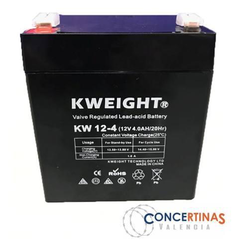 Batería 12v 4ah cerco eléctrico