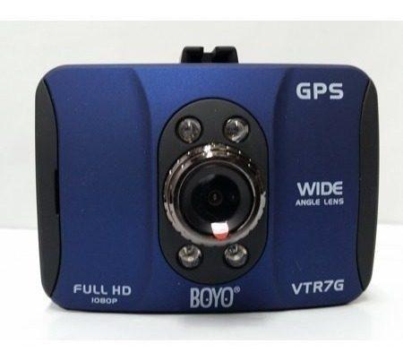 Dashcam 1080p gps dvr 8gb cámara seguridad vehículos