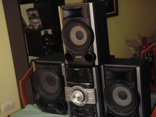 Equipo de sonido sony genezi mhc-gtz3 -excelente estado