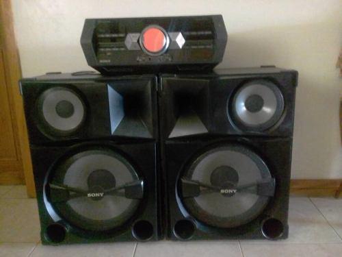 Equipo de sonido sony. modelo hcd-shakes. compact disc