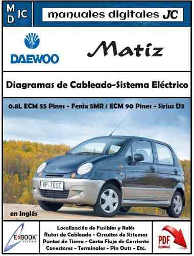 Manual diagramas sistema eléctrico daewoo matiz 0.8 l