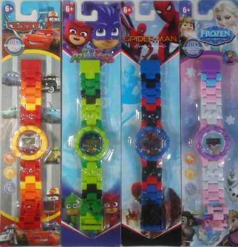 Reloj digital cars, airoman, minioms, moana, hulule niñ@
