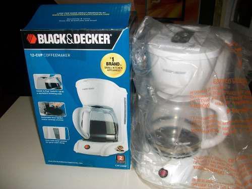 Cafetera electrica black&decker
