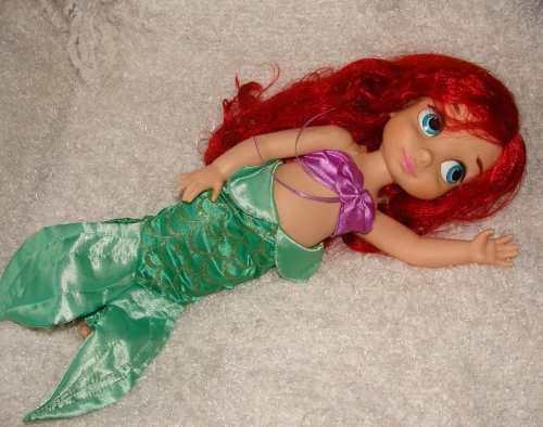 Ariel la sirenita muñeca collection disney animators