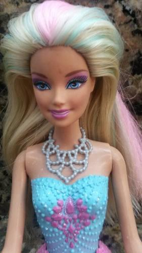 Barbie sirena usada matel original