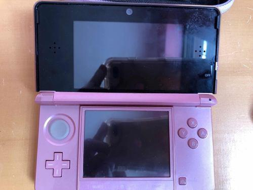Nintendo ds 3d color rosado
