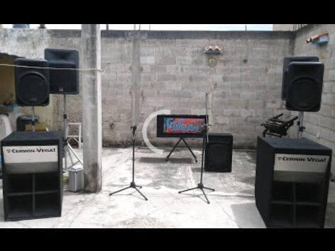 Sonido profesional para dj y grandes eventos oportunidad