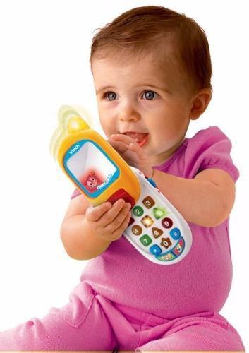 Teléfono celular happy movil vtech juguete interactivo