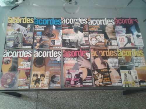 10 Revistas Con Su Cdrom De Acordes