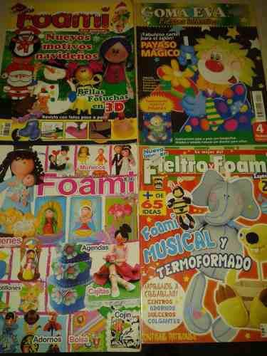 Revistas De Foami Tri Pack