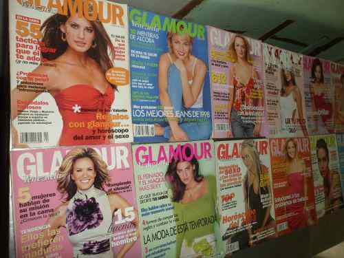 Revistas Glamour Negociable