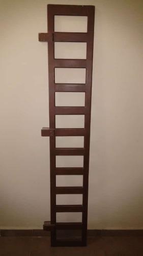 Baranda de madera de roble para cama individual