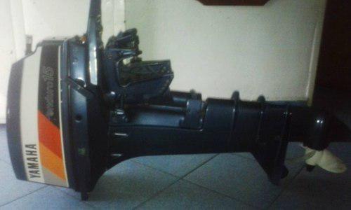 Motor de lancha yamaha remato