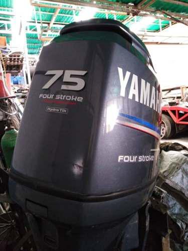 Motor fuera de borda yamaha 75 hp cuatro tiempos pata larga