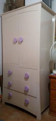 Closet de madera 2 puertas