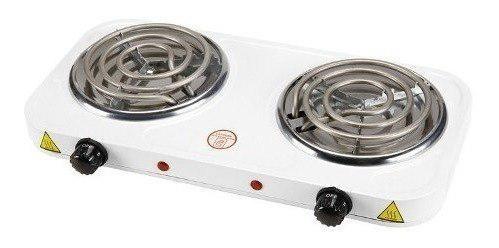 Cocina eléctrica de 2 hornillas