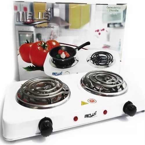 Cocina electrica portatil dos hornillas 2000w original