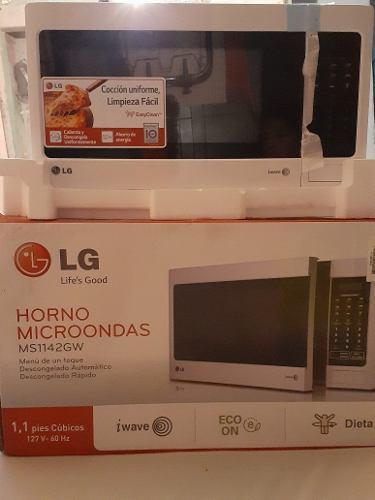 Horno Microondas Lg 1.1 Pies Cubico Modelo Us180$
