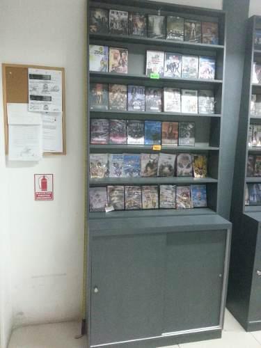 Mueble armario vitrina exhibidor de películas