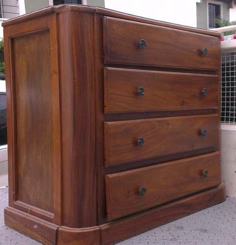Mueble gavetero peinadora con espejo