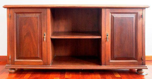 Sala, comedor, mueble seibo 2 puertas en madera