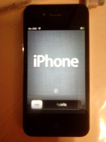 Iphone 4s bloqueado por icloud.