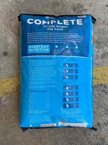 Alimento para gatos importada members mark 10.89 kg