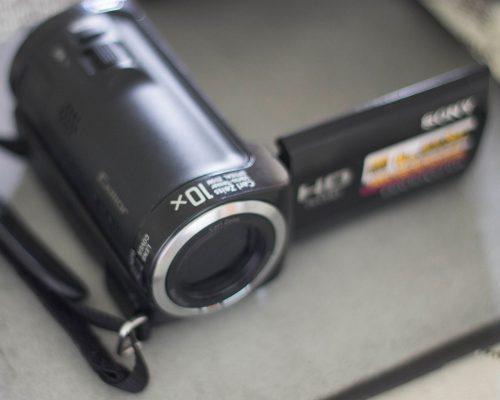 Camara video sony handycam hdr-cx100 8gb 4mp 1080i hdmi usb