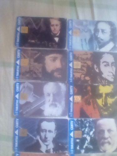 Colección de tarjetas cantv más de 400 tarjetas.