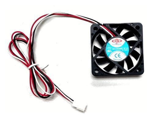 Fan cooler ventilador 12v 6cm 60 x 60 mm x 10mm ml1